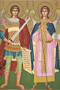 Sf.Arhangheli Mihail si Gavriil