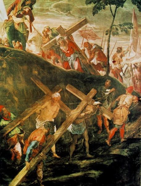 Tintoretto - Drumul crucii