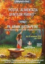 Pr. Iustin Petre – Alimentația SfințilorPărinți
