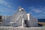 Biserica Panagia Paraportiani din InsulaMykonos