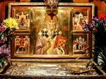 Moaștele Sf. Ierarh Spiridon din Insula Corfu ajung la Mănăstirea Pantocrator din Drăgăneşti Vlaşca –Teleorman